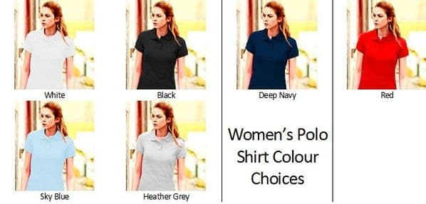 Women's Wedding & Hen Party Role Polo Shirt